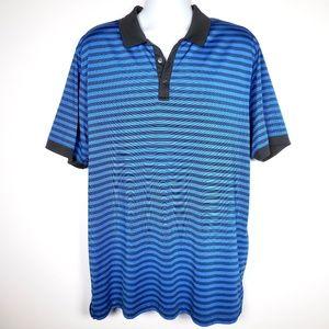Jack Nicklaus XXL Stay Dri Golf Polo Shirt Striped
